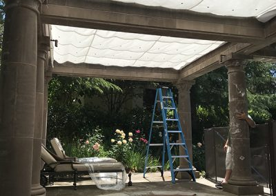 Pool Canopy (after)