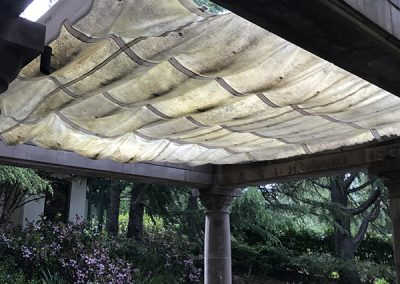 Pool Canopy (before)